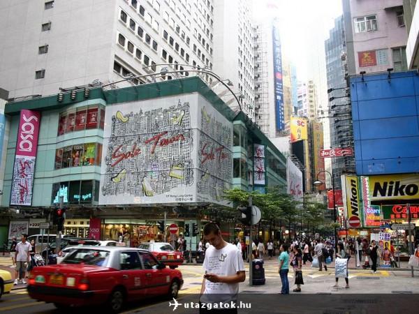 Hong Kong belvárosa