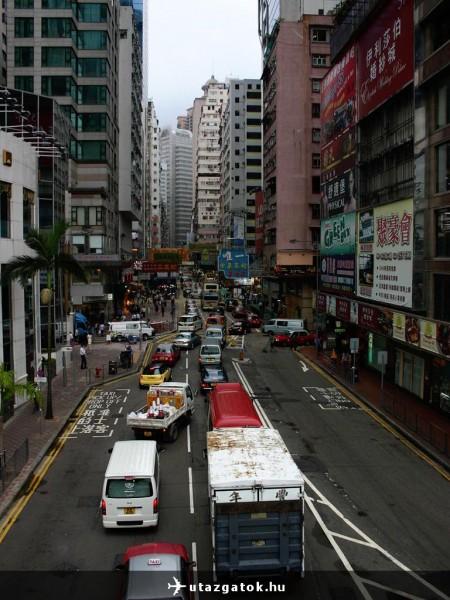 Hong Kongi városkép