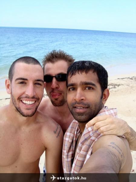Scott, Bipin és én