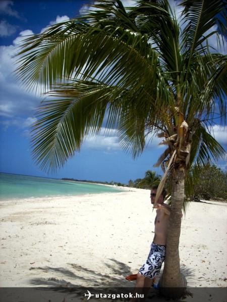 Trinidad melletti tengerpart