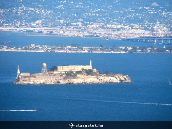 Kilátás az Alcatrazra