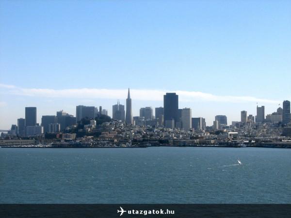 Kilátás San Franciscora