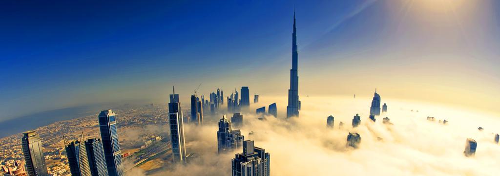 Dubai, a minden város