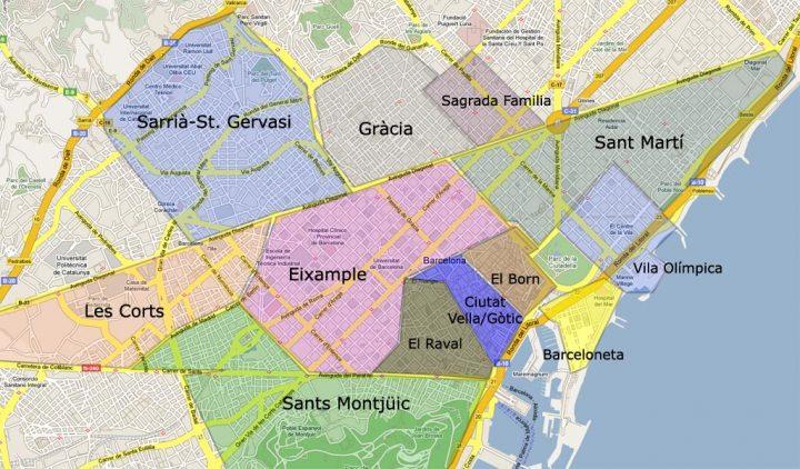 barcelona térkép Barcelona látnivalók, ahogy mi láttuk I. rész | Barcelona  barcelona térkép